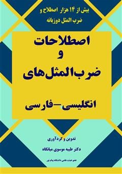 دانلود کتاب فرهنگ دو زبانه اصطلاحات و ضرب المثلهای انگلیسی - فارسی