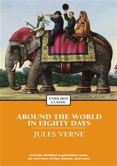 دانلود کتاب around the world in 80 days (رمان دور دنیا در 80 روز)