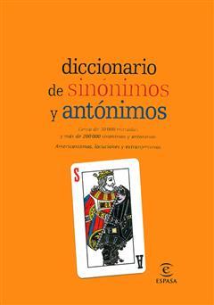 دانلود کتاب Diccionario de sinonimos y antonimos (دیکشنری مترادفها و متضادهای زبان اسپانیایی)