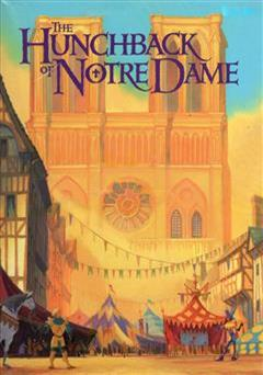 کتاب the hunchback of notre dame (گوژپشت نتردام)