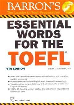 دانلود کتاب واژگان ضروری برای تافل (Barron's Essential Words for the TOEFL)