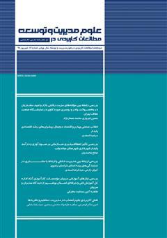 دانلود دو ماهنامه مطالعات کاربردی در علوم مدیریت و توسعه - شماره 17