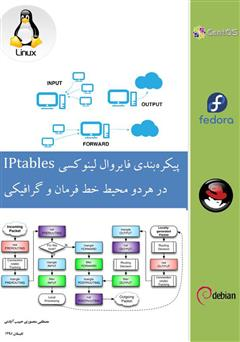 دانلود کتاب پیکره بندی فایروال لینوکسی IPtables (در هر دو محیط خط فرمان و گرافیکی)