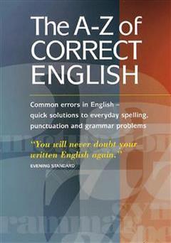 دانلود کتاب راهنمای اشتباهات رایج انگلیسی - The A-Z Correct English