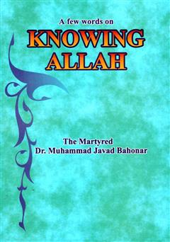 کتاب A few words on kowing allah